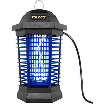 Bug Zapper for Outdoor Mosquito Killer, Fly Trap Mosquito Attractant Trap Insect Zapper