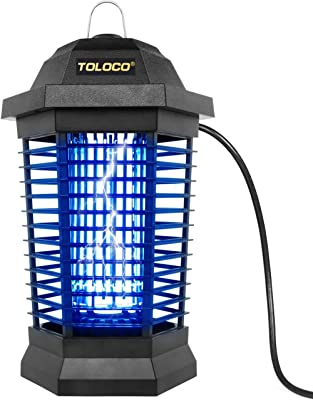 Bug Zapper Outdoor Electric, Insect Fly Traps, Mosquito Eradicator, Mosquito Killer for Patio (Zap T6 Pro)