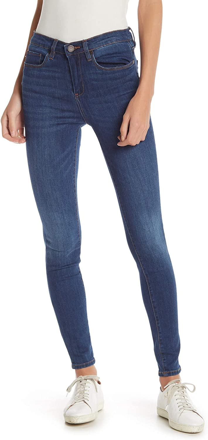 BLANK NYC Women's Skinny 2021 Rise 2021 autumn and winter new Denim High Jean