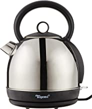 Toyomi WK 1032 Stainless Steel Cordless Kettle, 1.8L,Silver