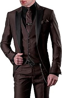 Amazon.es: Marrón - Trajes / Trajes y blazers: Ropa