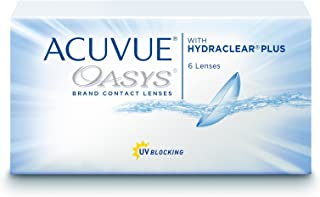 Acuvue Oasys2-Week with Hydraclear Plus Pack of 6 Contact Lens, -1.75 Diopters, 14 mm