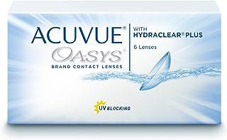 Acuvue Oasys - Lentes de contacto esféricas quincenales (R 8.4 / D 14 / -1.75 Diop), Pack de 12 uds.