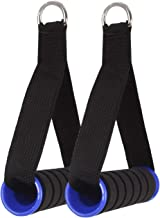 FITSY® Heavy Duty Resistance Band Handles Gym Cable Machine Attachments, 1 Pair