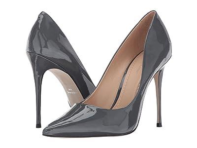 Massimo Matteo Pointy Toe Pump 17 (Gris Patent) Women