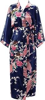 Best long silk kimono Reviews