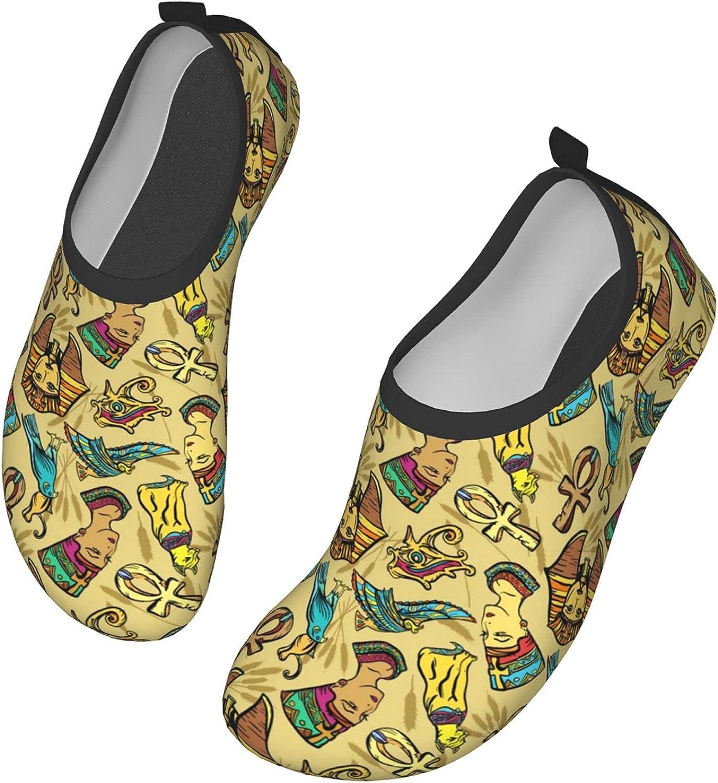 Water Shoes Women's Men's Ancient Egypt Pharaoh Nefertiti cat Ba