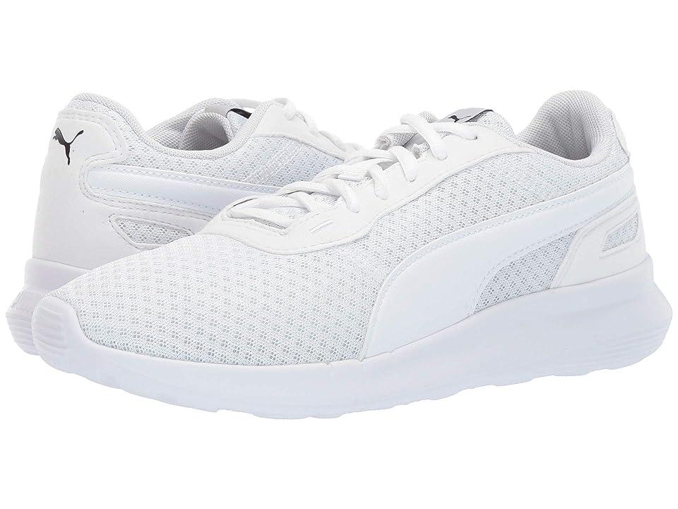 Puma Kids ST Activate (Big Kid) (Puma White/Puma White) Kids Shoes