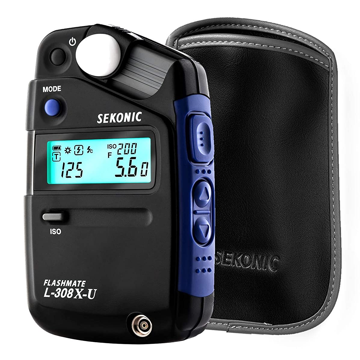 Sekonic L-308X-U Flashmate Light Meter (401-305) with Deluxe case