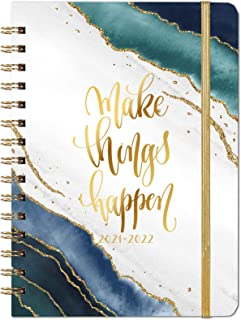 2021-2022 Diary - Academic Weekly & Monthly A5 Diary Planner, from July 2021 to June 2022, Hardcover with Tabs, Thick Pape...