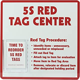 5S Red Tag Center, 5S Red Tag Center Board, 12