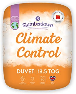 Slumberdown Couette thermorégulatrice pour 13,5 tog Blanc King Size
