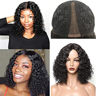 Best middle part curly bob Reviews