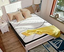 DCOICFAN DOFAN SF Spring Mattress Queen Bamboo Memory Foam Charcoal Latex Gel 10-Inch
