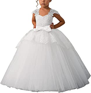 tulle flower girl dresses with sleeves