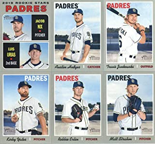 445735fd 2019 Topps Heritage Baseball San Diego Padres Team Set of 11 Cards: Joey  Lucchesi(