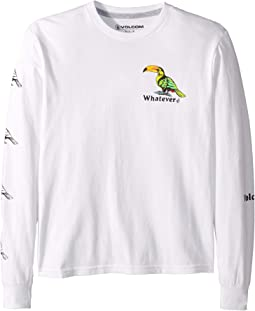 Bad Bird Long Sleeve Tee (Big Kids)