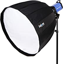 Selens Deep Parabolic Softbox 48 inches/120 Centimeters Hexadecagon Quick Folding Umbrella Softbox Diffuser with Bowens Speedring Mount for Photography Speedlites Flash Monolight and More