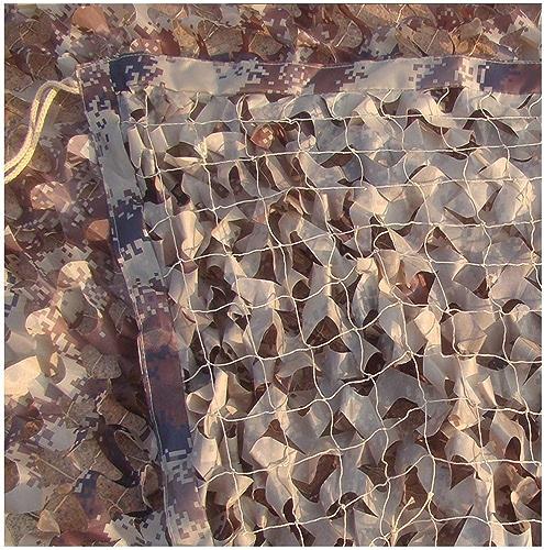 Bache de tente Camouflage en mode désert Filet de camouflage sauvage Filet d'oxford Matériel Caché Tente de camping En plein air Photographie Pièce Décoration Net Plusieurs tailles optionnelles (Taill