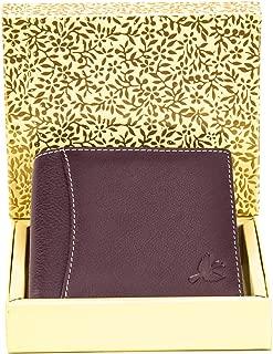 Hornbull Men's Brown Themes Geuine Leather RFID Wallet Valentine Gift for Men