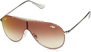 47bd3bcd7 Óculos de Sol Ray Ban Junior Wings Rj9546s 274/v0/20 Vermelho/prata