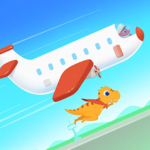 Dinosaur Airport - Flight Games for kids