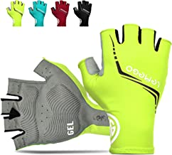 LEMEGO Fietshandschoenen Mountain Racefiets Handschoenen Halve Vinger Fietshandschoen voor Mannen Vrouwen Padding Reflecte...
