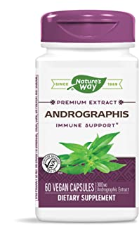 Nature's Way Premium Extract Standardized Andrographis Immune Support, 300 mg per serving, 60 Capsules