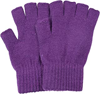BODY STRENTH Womens' Fingerless Gloves Knit Magic Cashmere Winter Warm