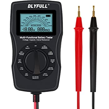 Xinlie Tester Batteria Tester Per batterie Tester Batteria Digitale Tester batteria Ttester Batteria Misuratore Batteria Tester Capacit/à Batteria 1 Pezzo