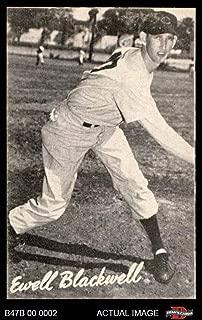 1947 Bond Bread # 3 Ewell Blackwell (Baseball Card) Dean's Cards 7 - NM
