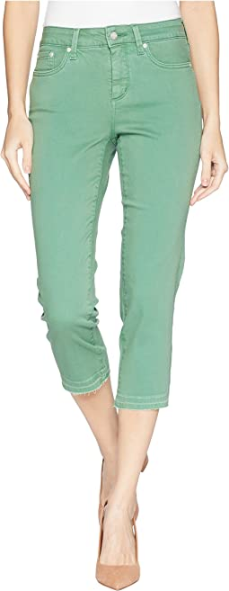 Capris w/ Released Hem in Cactus United States