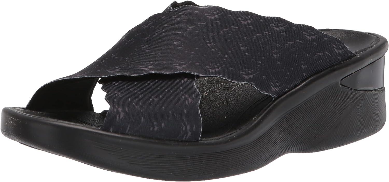 BZees Women's Sahara Lowest price challenge Sandal Slide Popular popular