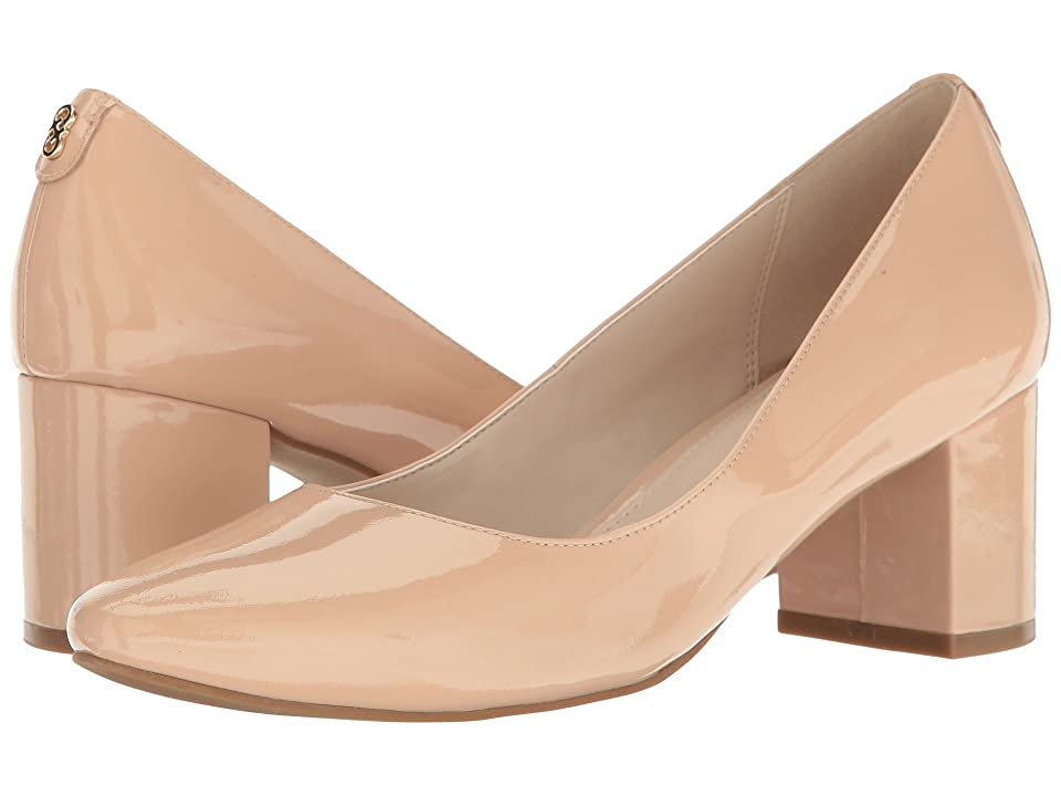 Cole Haan Claudine Pump 55mm II (Nude Patent) High Heels