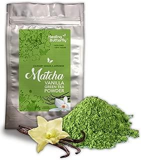 vanilla ginger green tea chai