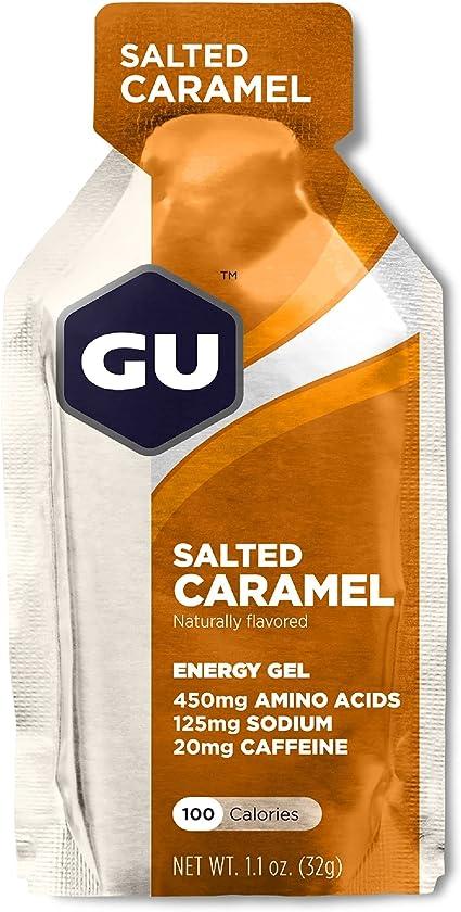 Gu Energy Gel (Caixa 24 Sachês) Gu Energy Labs - Sabor Caramelo    Amazon.com.br