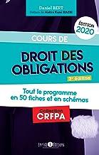 Livres Cours de droit des obligations (édition 2020) (CRFPA) PDF