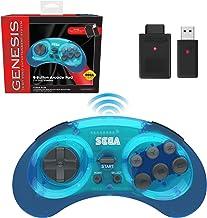 Retro-Bit Sega Genesis 2.4 GHz Wireless Controller 8-Button Arcade Pad for Sega Genesis..