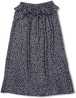 Saia Longa Liberty Azul Escuro - Infantil Menina
