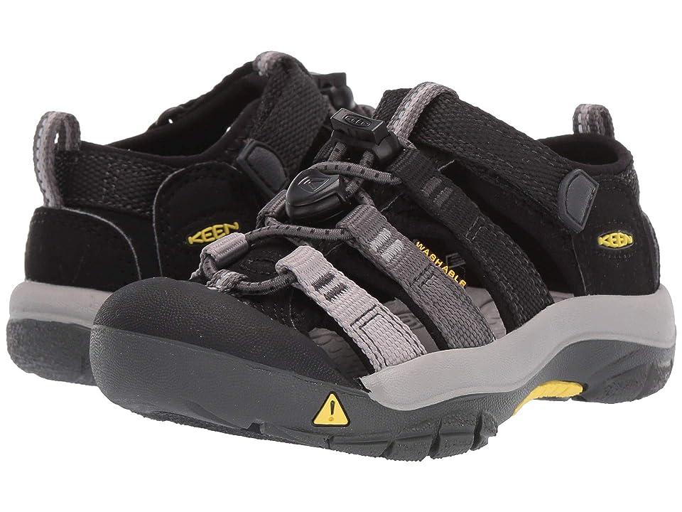 Keen Kids Newport H2 (Toddler/Little Kid) (Black/Magnet) Boys Shoes