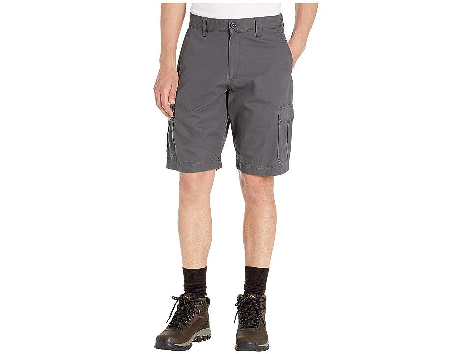 Eddie Bauer Versatrex Cargo Shorts (Dark Smoke) Men