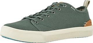 TOMS - Mens Trvl Lite Low Sneaker, Size: 12 D(M) US, Color: Bonsai Green Canvas