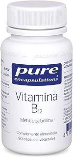 Pure Encapsulations - Vitamina B12-90 cápsulas 15g