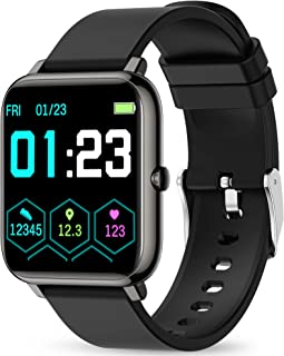 Smart Watch, KALINCO Fitness Tracker with Heart Rate Monitor, Blood Pressure, Blood Oxygen...