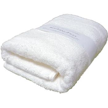今治タオル バスタオル 「贅沢なめらかタオル」 高級綿スーピマ・コットンを使用し、柔らかくボリュームたっぷり、滑らかな肌触り。 (ホワイト)