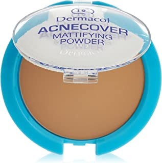 Dermacol Cosmetics Acnecover Mattifying Compact Powder 11g (Honey)