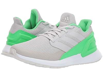 adidas Kids RapidaRun Wide (Big Kid) (Grey/White) Boys Shoes