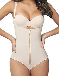 Mujer Bodysuits Underbust Body sin Costuras Abdomen Cintura Adelgazar Lencería Moldeadora Slimming Shapewear