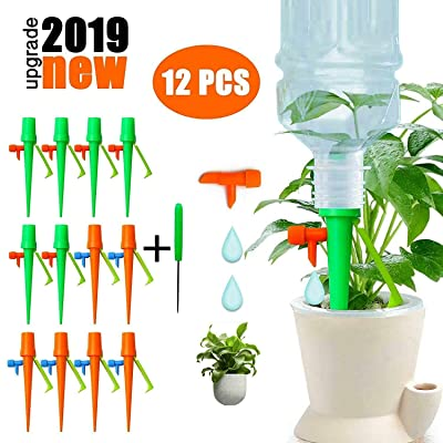Plant Watering Spikes, SYLHLW Upgraded Self Wat...