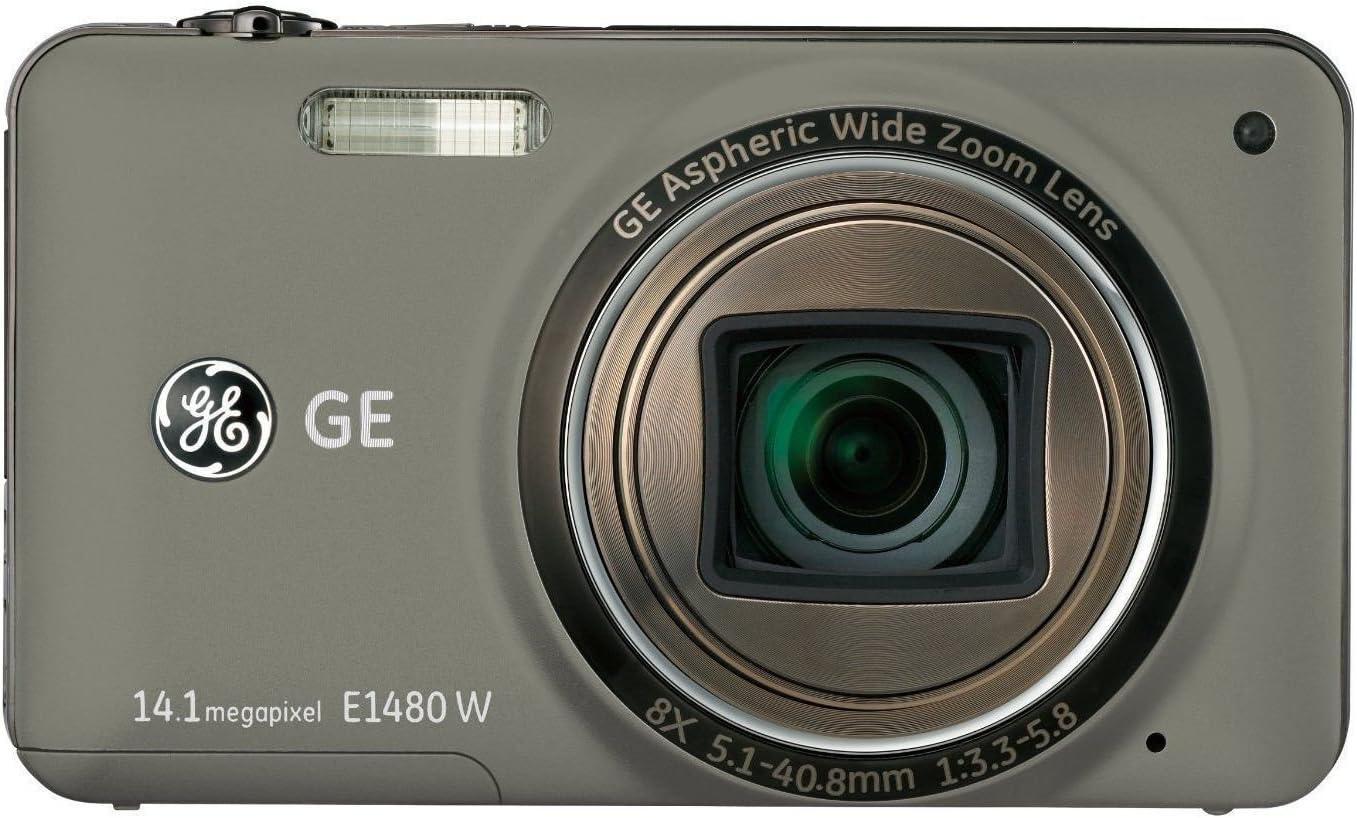 Ge General Electric E1480w Digitalkamera 3 0 Zoll Rot Kamera